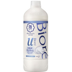 "Kao Biore U Foaming Body Wash Pure Savon : Пенка для душа ""Пикантный аромат свежести"", 450 мл. (запасной блок)"
