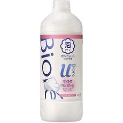 "Kao Biore U Foaming Body Wash Pure Savon : Пенка для душа ""Изысканный букет"", 450 мл. (запасной блок)"