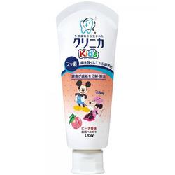 Lion Kid's : Детская зубная паста, укрепляющая (со вкусом персика) 60 гр.