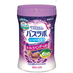 """Hakugen """"Hakugen Earth - Hers Bath Labo"""" : Увлажняющая соль для ванны с восстанавливающим эффектом с гиалуроновой кислотой, с ароматом лаванды, банка 680 гр"""