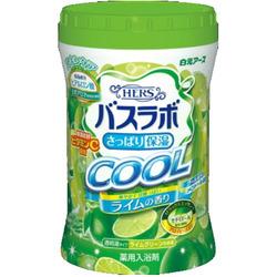 """Hakugen """"Hakugen Earth - Hers Bath Labo Cool"""" : Увлажняющая соль для ванны с освежающим эффектом с гиалуроновой кислотой, с ароматом лайма, банка 640 гр."""