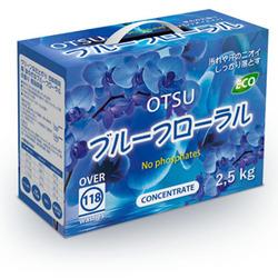 """Otsu Концентрированный стиральный порошок с ароматом """"Цветочный Сад"""". 2,5 кг."""