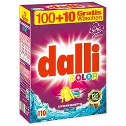 Dalli Color : Стиральный порошок для цветного белья, 110 стирок, 7,15 кг.
