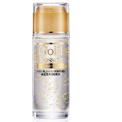 """Squeeze """"Gold Blossom"""" : Увлажняющий лосьон для лица и тела с золотом, гиалуроновой кислотой и коллагеном, 120 мл."""