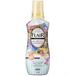 """Kao """"Flair Fragrance Flower & Harmony"""" : Кондиционер-смягчитель для белья с ароматом чистой цветочной гармонии 570 мл."""