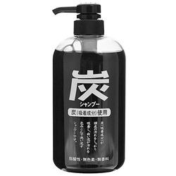 Junlove Charcoal Shampoo : Шампунь для волос с древесным углем, 600 мл.