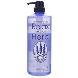 Junlove New Relax Herb Shampoo : Растительный шампунь для волос с расслабляющим эффектом (с маслом лаванды) 1000 мл.