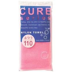 O:he Cure 2 : Мочалка для душа средней жесткости из 100% ультратонкого нейлона, размер 28х110 см.