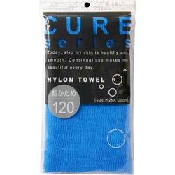 O:he Cure 2 : Мочалка для душа супержесткая из 100% ультратонкого нейлона, размер 28x120 см.