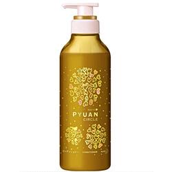 """Kao Merit Pyuan """"Circle"""" : Кондиционер для волос с ароматом персика и сливы, 425мл."""