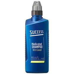 Kao Success Extra Cool : Лечебный шампунь-кондиционер для мужчин, с охлаждающим эффектом, с ментолом и эвкалиптом, 400 мл.