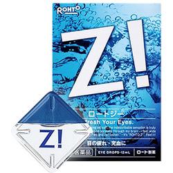 Rohto Z! - суперосвежающие японские глазные капли, 12мл.