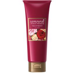 SPR Japan Samourai Woman Premium Маска для волос восстанавливающая и увлажняющая, с великолепным ароматом роз, 200 г.