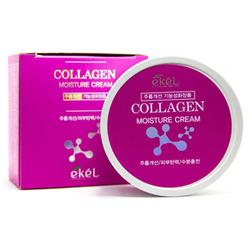 Ekel Moisture Cream Collagen Крем для лица увлажняющий с коллагеном 100 гр.