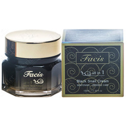 Jigott Facis All-in-one Black Snail Cream Восстанавливающий крем-эссенция с муцином улитки 100 гр.