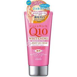 Kose Cosmeport Coen Rich Q10 Fresh Peach Крем для рук с коэнзимом Q10, увлажняющий, отбеливающий и повышающий упругость кожи, с ароматом персика, 80 гр.