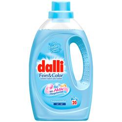 Dalli Fein & Color : Концентрированный гель для стирки нежных и цветных тканей 1,1 л.