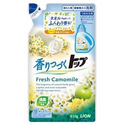 """Lion Top Fresh Camomile : Универсальный гель для стирки """"Ромашковое поле"""", с ароматом ромашки и зеленого яблока. 810 гр."""