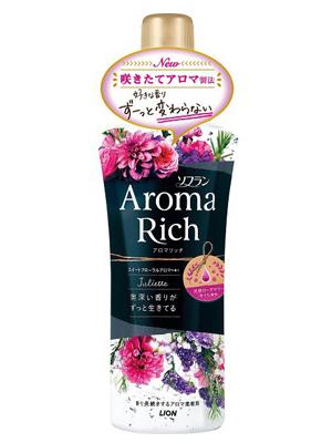 Lion Aroma Rich Juliette : Кондиционер для белья c натуральными ароматическими маслами, 550 мл.