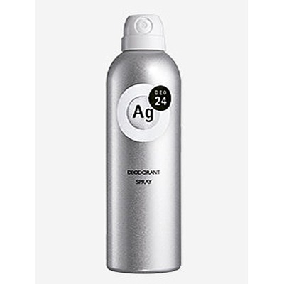 Shiseido Ag+ : Дезодорант-спрей для тела с ионами серебра. Без запаха. 40 гр. или 142 гр.