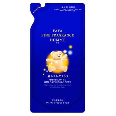 "Nissan Fine Fragrance ""Homme"" : Кондиционер-ополаск. для белья с антистатическим эффектом, аромат мускуса+бергамот. 500 мл."