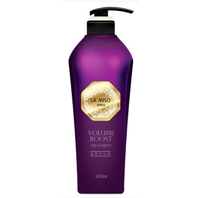 La Miso Volume Boost Treatment : Кондиционер для максимального объема волос. Без сульфатов и силикона. 500 мл.