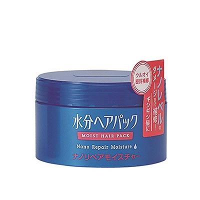 Shiseido Moist Hair Pack : Увлажняющий нано-бальзам для поврежденных волос, 100 гр