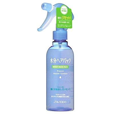 Shiseido Moist Hair Pack : Увлажняющий спрей для укладки поврежденных волос с цветочным ароматом (220 мл)