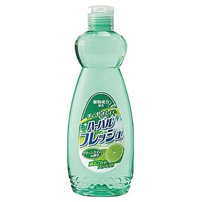 Mitsuei Средство для мытья посуды, овощей и фруктов с ароматом лайма 600 мл.