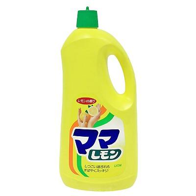 Lion Mama Lemon : Моющее средство с ароматным запахом лимона для посуды, овощей и фруктов. 2150 мл.