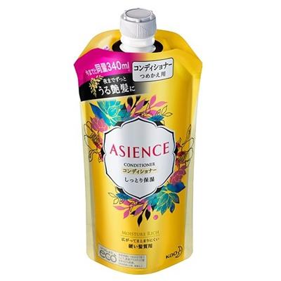 Kao Asience Inner Rich : Кондиционер для восстановления ослабленных волос, с маслом арганы и камелии, с фруктово-цветочным ароматом, 340 мл.