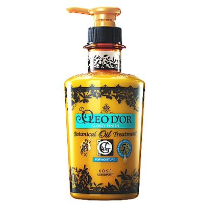"""Kose Cosmeport """"Oleo D'or"""" : Тритмент для повреждённых волос, для сухих, ломких волос """"Блеск и увлажнение - 5 масел"""". 500 мл."""