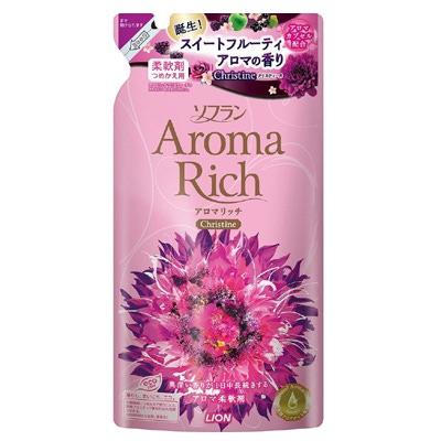 Lion Aroma Rich Christine : Кондиционер для белья с пряным фруктовым ароматом, 450 мл.
