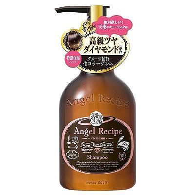 Cosme Company Angel Recipe Premium Shampoo : Премиальный восстанавливающий шампунь для волос без сульфатов и силикона, 500 мл.