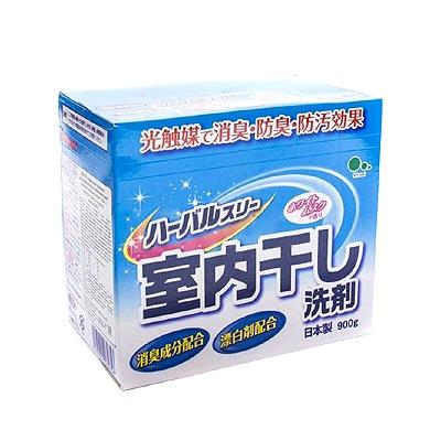 Mitsuei Herbal Three : Стиральный порошок с дезодорирующими компонентами, отбеливателем и ферментами. С ароматом белого мускуса, 900 гр.