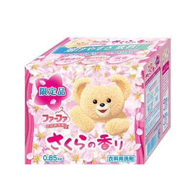 """Nissan FaFa Sakura : """"Сакура"""" Концентрированный универсальный стиральный порошок для детского белья. С ароматом сакуры. 0,85 кг."""