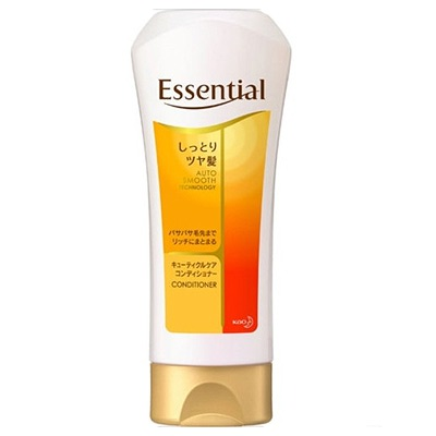 Kao Essential : Восстанавливающий и увлажняющий кондиционер для поврежденных волос с цветочным ароматом, 200 мл.