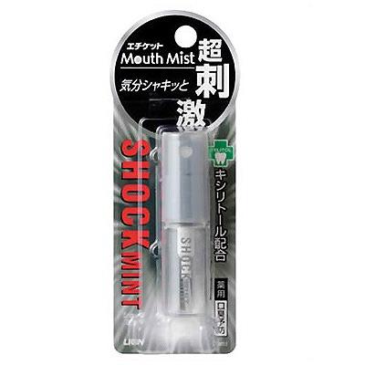 """Lion """"Mouth Mist Shock Mint"""" : Спрей-освежитель для полости рта, 5 мл."""