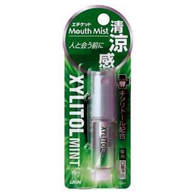 "Lion ""Mouth Mist Xylitol Mint"" : Спрей-освежитель для полости рта, 5 мл."
