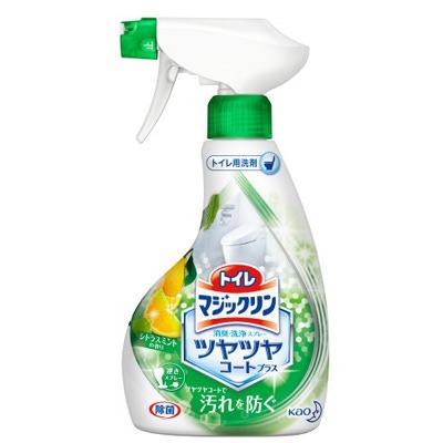 """Kao """"Magiclean Toilet"""" : Спрей-пенка для туалета с дезодорирующим эффектом с мятно-цитрусовым ароматом, 380 мл."""