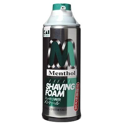 Kai Menthol Shaving Foam : Пена для бритья с ментолом (охлаждающая), 415 гр.