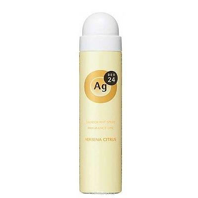 Shiseido Shiseido Ag + Verbena Citrus : Дезодорант-спрей для тела с ионами серебра. С ароматом вербены и цитрусовых. 40 гр. или 142 гр.