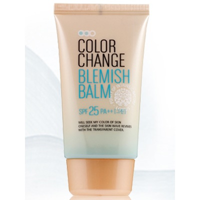 Welcos Lotus BB Cream Color Change Blemish Balm : Уникальный многофункциональный ББ крем, подстраивающийся под индивидуальные особенности кожи лица. 50 мл.