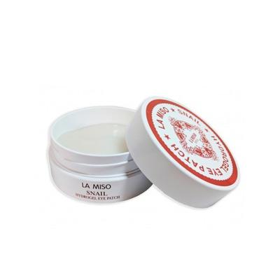 La Miso Snail Hydrogel Eye Patch : Гидрогелевая маска для лица с экстрактом слизи улитки. Для кожи вокруг глаз. 60 шт.
