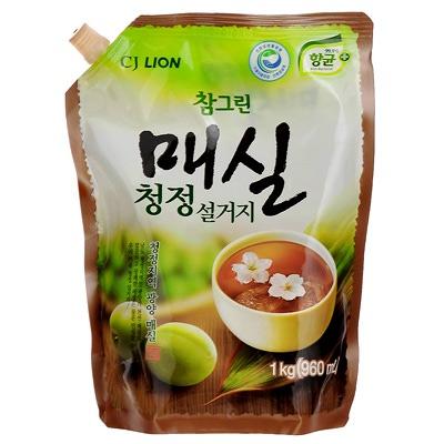 """CJ Lion Chamgreen : """"Японский абрикос"""": Cредство для мытья посуды с экстрактом японского абрикоса. 960 мл."""
