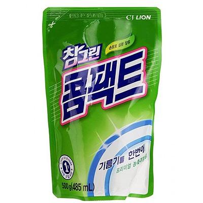 CJ Lion Chamgreen : Высококонцентрированное средство для мытья посуды, овощей и фруктов, 485 мл.