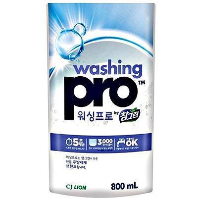 CJ Lion Washing Pro : Средство для мытья посуды и кухонной утвари, 800 мл.