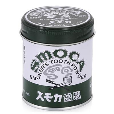 Smoca Green : Зубной порошок для курящих со вкусом мяты и эвкалипта, 150 гр.