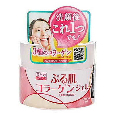 """Utena """"Lamuca Plump"""" : Увлажняющий гель для лица с коллагеном, гиалуроновой кислотой и оливковым маслом, 100 гр."""