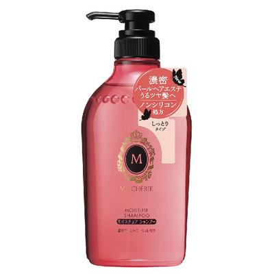 Shiseido Ma Cherie :Увлажняющий шампунь с цветочно-фруктовым ароматом. Без силикона. Для ежедневного применения.450мл.